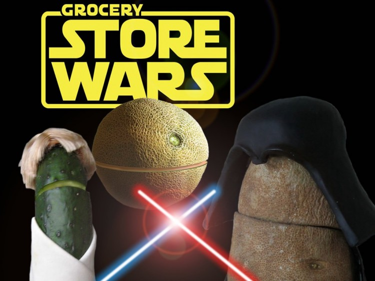 grocery store star wars