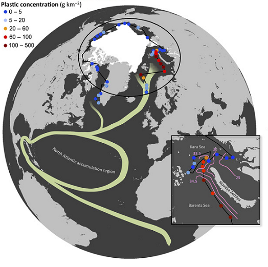plastique arctique