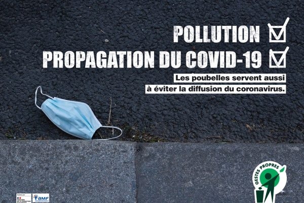pollution masques bons gestes